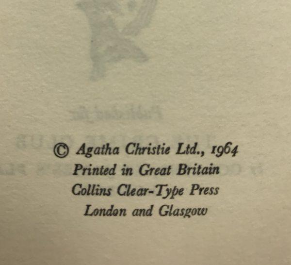 agatha chrstie a caribbean mystery first edition2
