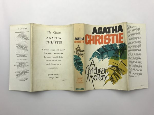 agatha chrstie a caribbean mystery first edition4