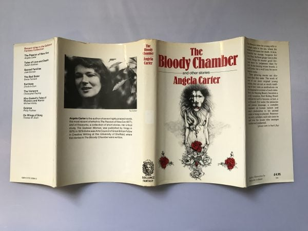 angela carter the bloody chamber fisrt edition4