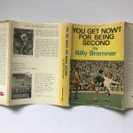 billy bremner you get nowt for being second signed first edition4