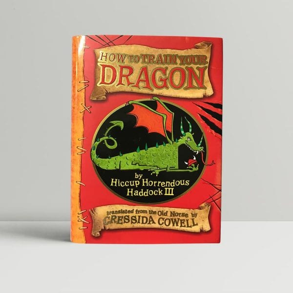 cressida cowell how to train your dragon signed first edition1
