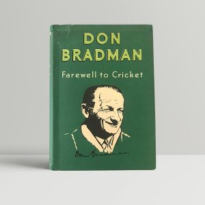 don bradman farewell to cricket signed first edition1 1