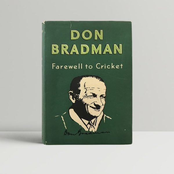 don bradman farewell to cricket signed first edition1