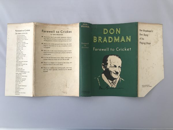 don bradman farewell to cricket signed first edition5 1