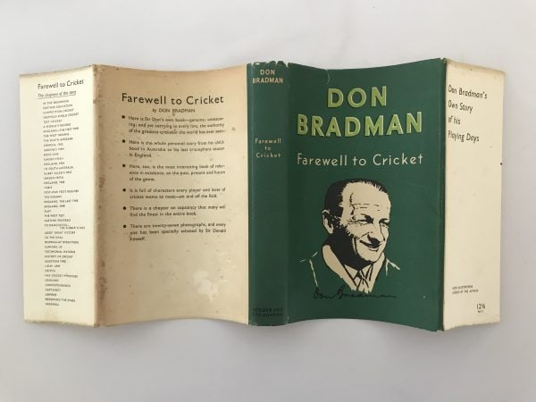 don bradman farewell to cricket signed first edition5