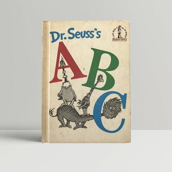 dr seuss abc first edition1