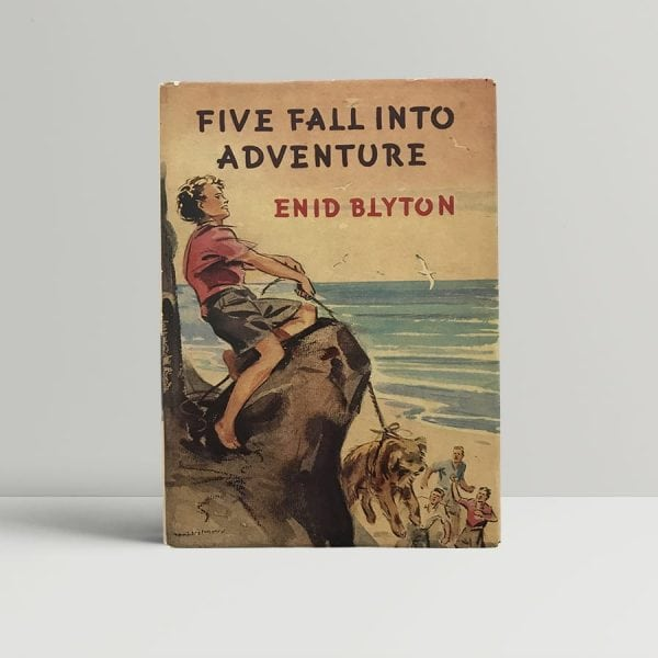 enid blyton five fall into adventure first edition1