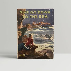 enid blyton five go down to the sea first edition1