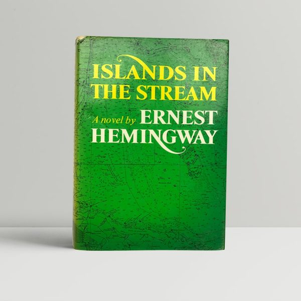 ernest hemingway islands in the stream with band first edition1