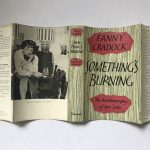 fanny cradock somethings burning signed first edition5
