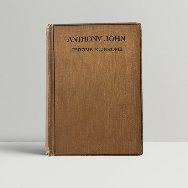 jerome k jerome anthony john first edition1