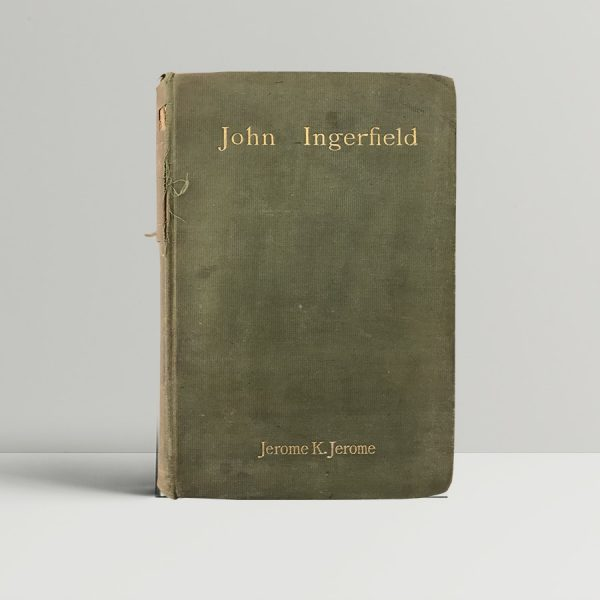 jerome k jerome john ingerfield first edition1