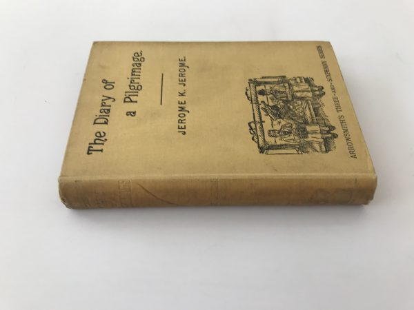jerome k jerome the diary of a pilgrimage first edition3