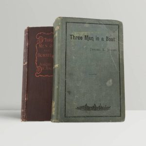 jerome k jerome three men in a boat on the bummel first editions1