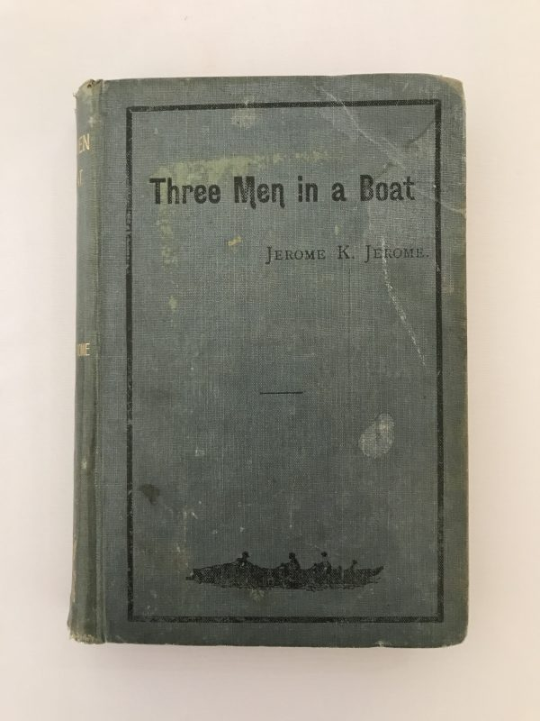 jerome k jerome three men in a boat on the bummel first editions2