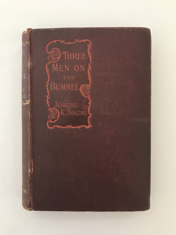jerome k jerome three men in a boat on the bummel first editions4
