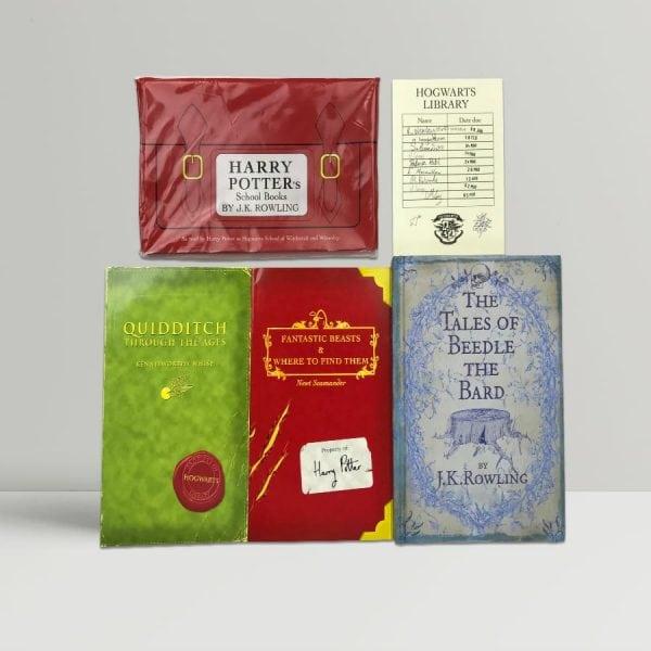 jk rowling harry potters schoolbooks beedle bard1