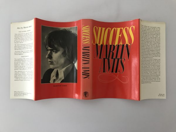 martin amis success first edition4