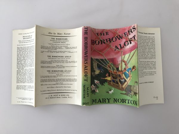 mary norton the borrowers aloft first edition4