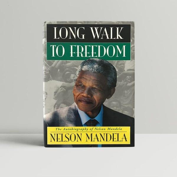 nelson mandela long walk to freedom first edition1