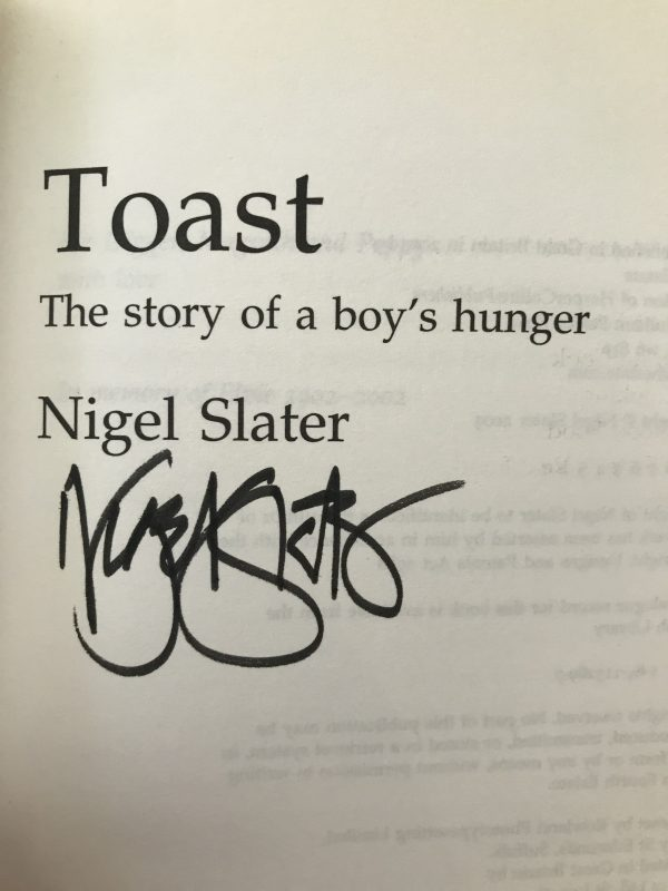 nigel slater toast signed first edition3