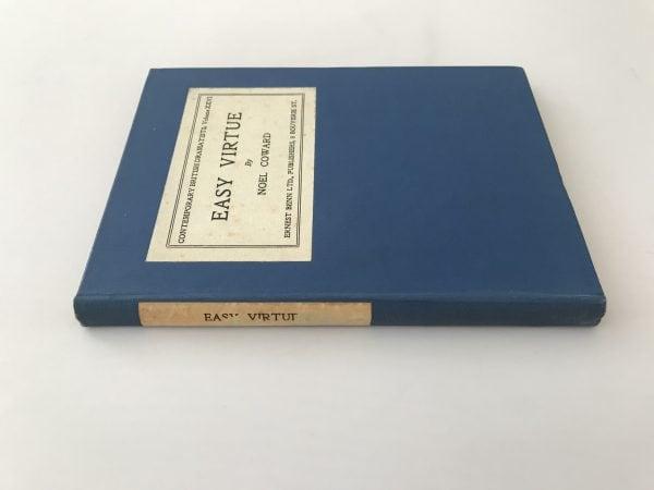 noel coward easy virtue first edition2