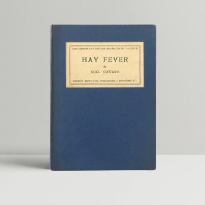 noel coward hay fever signed first edition1