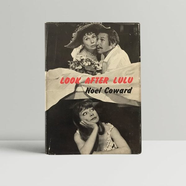 noel coward look after lulu first edition1