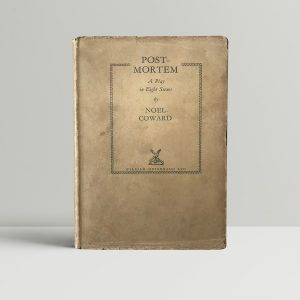 noel coward post mortem first edition1