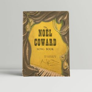 noel coward song book signed first edition1
