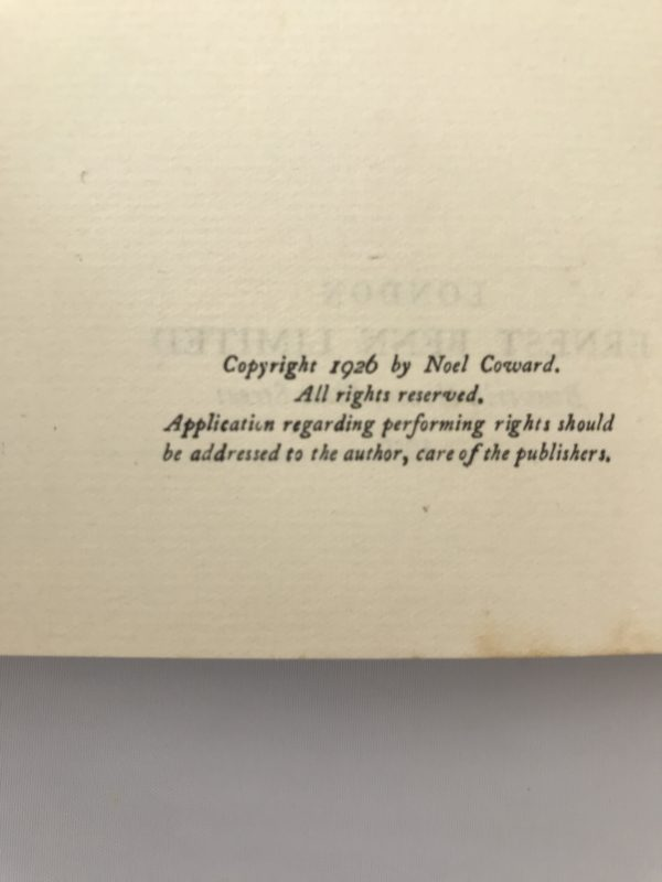 noel coward the queen was in the parlour first edition2