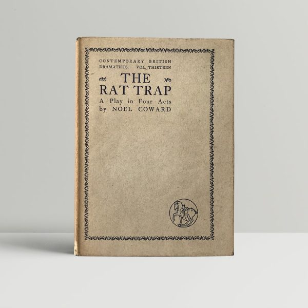 noel coward the rat trap first edition1