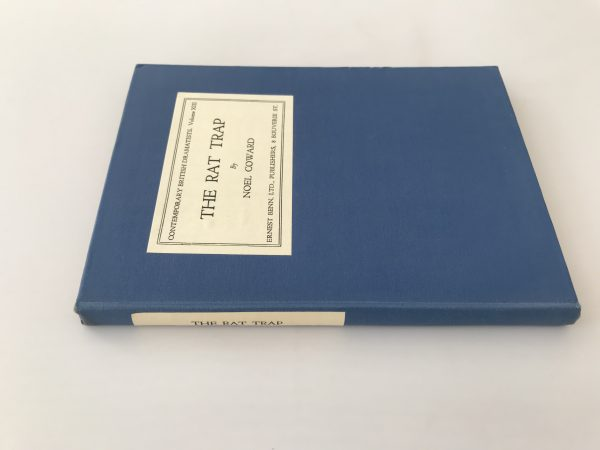noel coward the rat trap first edition4