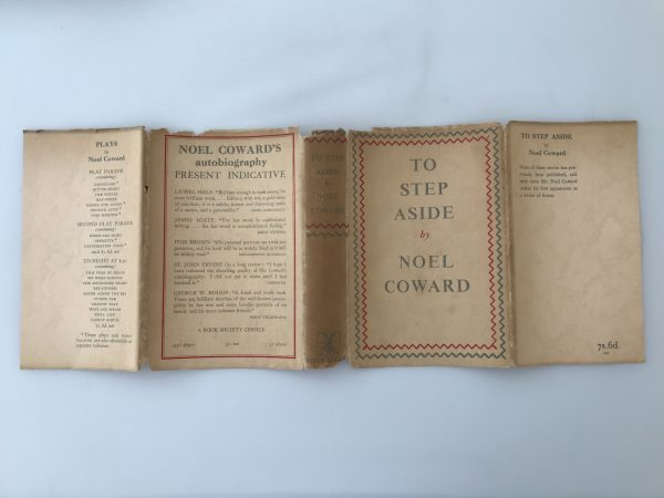 noel coward to step aside first edition4