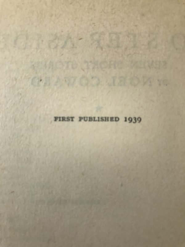 noel coward to step aside signed first edition3