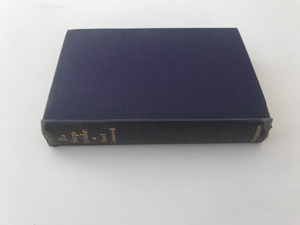 noel coward to step aside signed first edition4