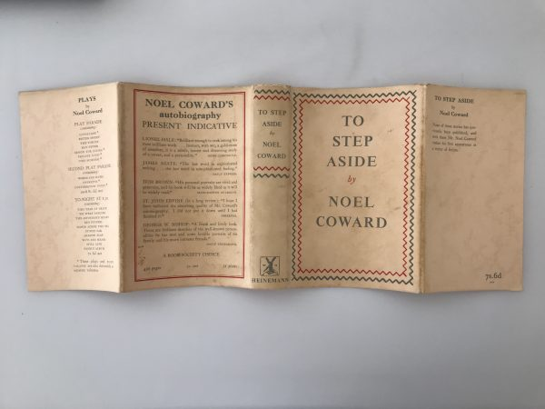 noel coward to step aside signed first edition5