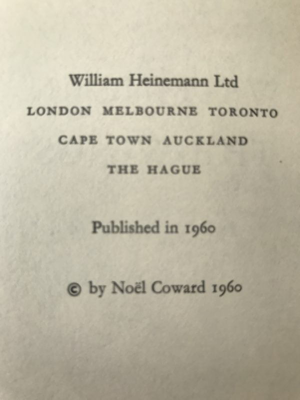 noel coward waiting in the wings first edition2