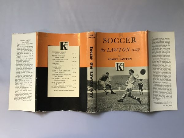 tommy lawton soccer the lawton way signed first edition5