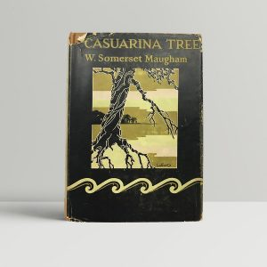 w somerset maugham casuarina tree first edition1