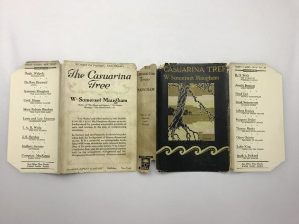 w somerset maugham casuarina tree first edition4