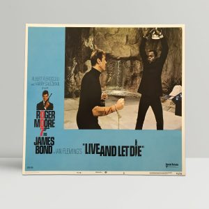 Live And Let Die Original Unframed Lobby Poster6