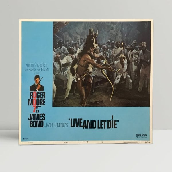 Live And Let Die Original Unframed Lobby Poster7