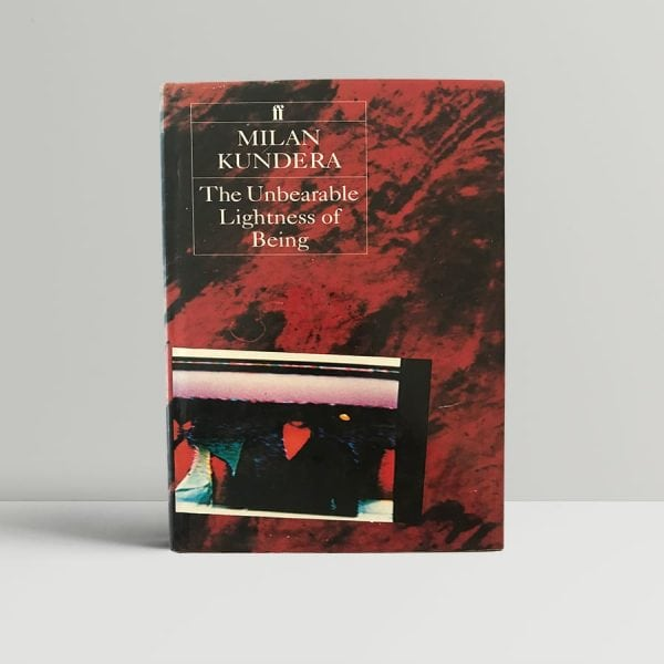 Milan Kundera The Unbearable Lightness Of Being First Edition1