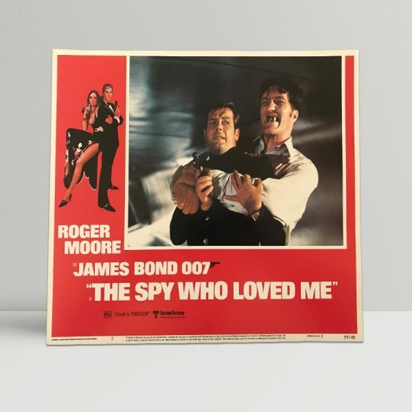 The Spy Who Loved Me Original Unframed Lobby Poster2