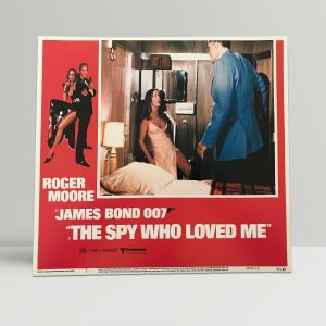 The Spy Who Loved Me Original Unframed Lobby Poster3