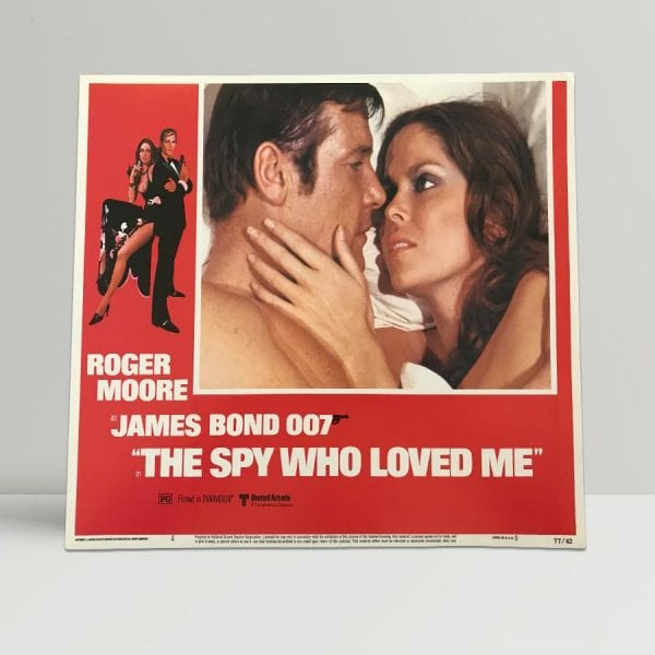 The Spy Who Loved Me Original Unframed Lobby Poster4