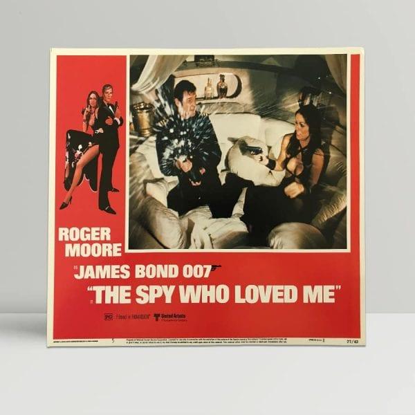 The Spy Who Loved Me Original Unframed Lobby Poster5