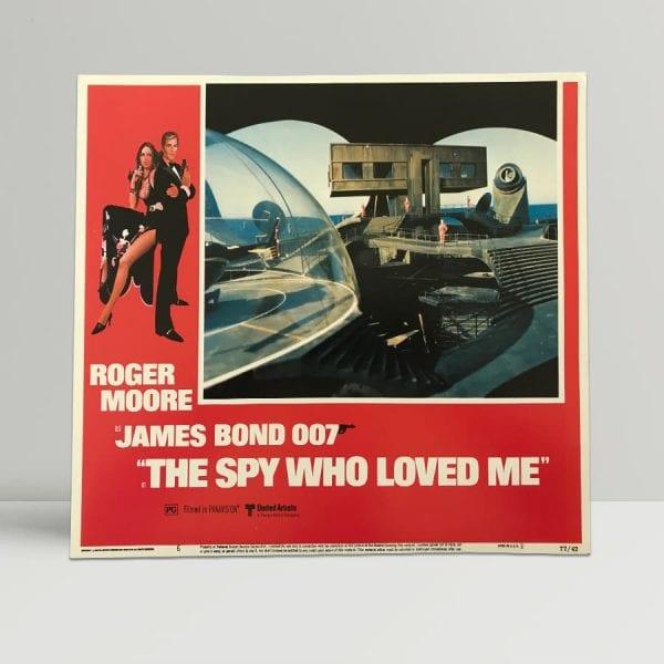 The Spy Who Loved Me Original Unframed Lobby Poster6