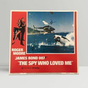 The Spy Who Loved Me Original Unframed Lobby Poster7